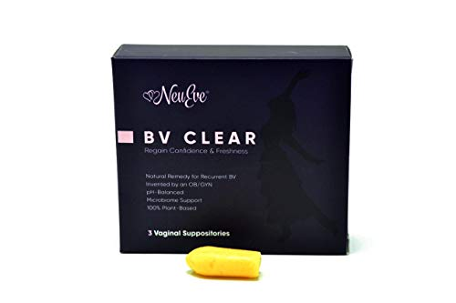 NeuEve® Suppository BV Clear – Clearing Feminine Odor & Discharge Rapidly – Using Regularly Blocks Recurrent BV from Coming Back - Natural Cleanser/Deodorant