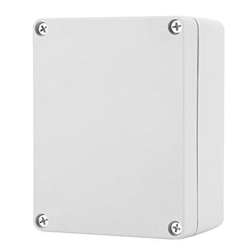 Anschlussdose, IP65 ABS Wasserdichtes Instrumentenkoffer für Elektrische Projektboxen für Innen- und Außenelektrik, Kommunikation, Feuerlöschgeräte (115 * 90 * 55mm)