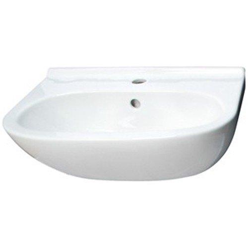 Villeroy & Boch Waschtisch compact O.novo 516655 550x370mm mittl Hl. durchgest m. Ül. weiß, 51665501