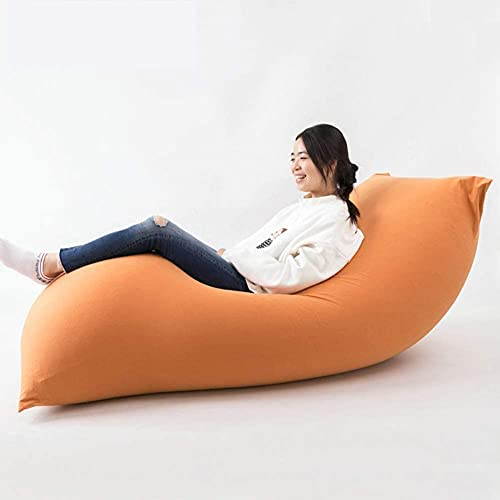 特大 ビーズクッション 座布団 クッション ソファー 豆袋 人をダメにするソファ なまけ者ソファー 伸縮 軽量 寝椅 取り外し可能 子供や大人に最適