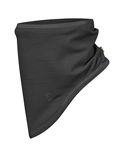 FJÄLLRÄVEN Unisex Keb Fleece Neck Gaiter Schal, Grau (Dark Grey 030), (Herstellergröße: One Size)