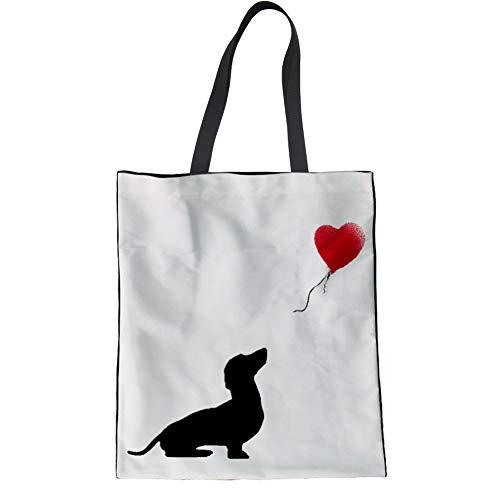 Woisttop Bolsa de compra reutilizable, bolsa de lona para la compra para...
