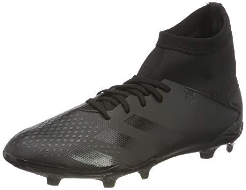 adidas Predator 20.3 FG J, Zapatillas Deportivas, Core Black/Core Black/DGH Solid Grey, 36 EU