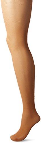 Hanes Perfect Nudes Net Girl Short Tummy Control Hosiery (PN0003) -Beige/Nude -3/4X