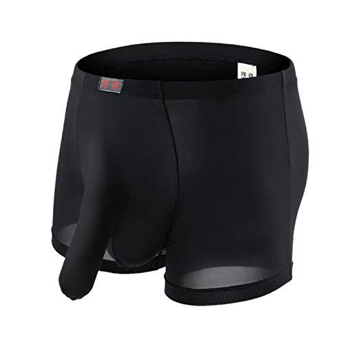 Barlingrock Mens Underwear Boxer Elephant Bulge Unterhose Kurze Höschen