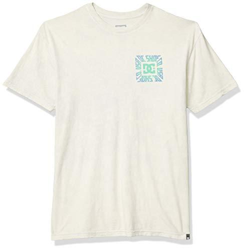 DC Herren Shattered Short Sleeve Tee Hemd, antik-weiß, XX-Large