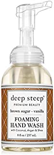 Deep Steep Foaming Hand Wash, Brown Sugar Vanilla, 8 Ounce