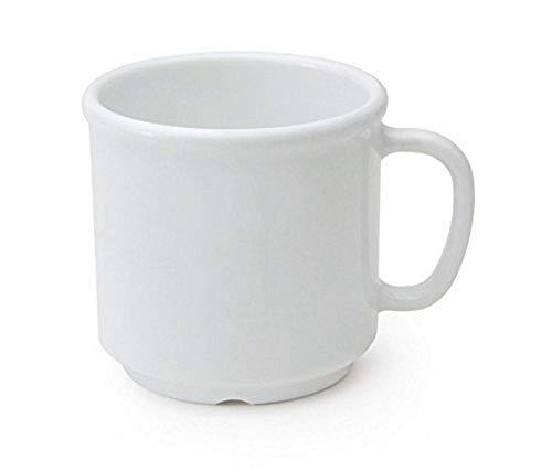 GET S-12-W-EC Shatter-Resistant Coffe Mug, 12 Ounce, White mug (Set of 4)