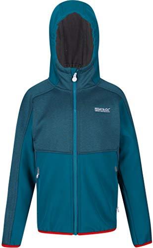 Regatta Bracknell II Soft Shell Jacke Kinder Olympic Teal/Gulfstream Kindergröße 13Y | 158 2020 Funktionsjacke