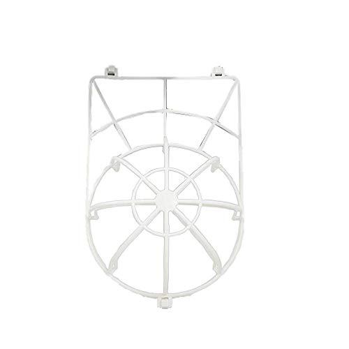 MaylFre Las PC 1 Casquillo De La Bola Lavadora para Lavar Limpiador Gorra De Béisbol Sombrero Máquinas Lavadora De Jaulas Anti-Deformación Lavado Tapa Protectora Blanca