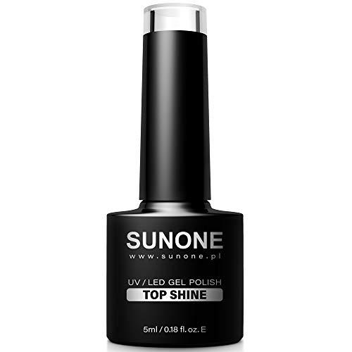 Sunone Lakier Hybrydowy UV/LED Hybryda 5Ml, Top Shine Bezbarwny