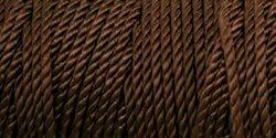 Iris Nylon Crochet Thread Size 18 197 Yards Deep Brown 18-490 (4-Pack)