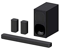 Sony HT-S20R 5.1 Channel Dolby Digital Soundbar Home Theatre System with Bluetooth Connectivity - Black,Sony,HT-S20R