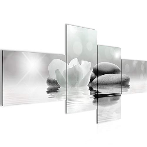 Quadro XXL Fiori Tulipani 200 x 100 cm Stampa D'Arte Murale Tela Non Tessuta Decorazione Soggiorno Camera Da Letto 506041b