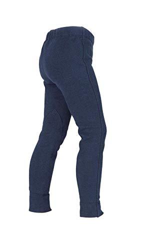 Pantalones de montar a caballo tipo Wessex de Shires para niños, color azul marino, tamaño 2-3 años