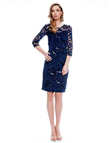 Vestido Olimara Azul 14171066 52 Azul