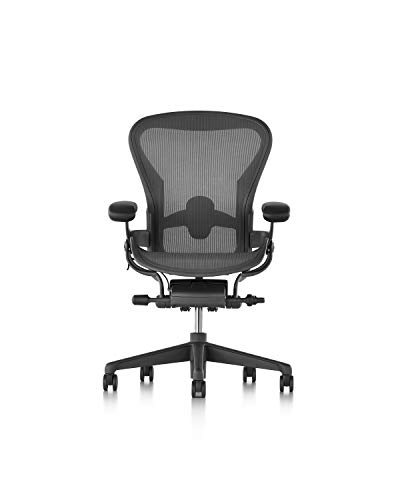 Herman Miller Aeron Chair, B, Graphite -