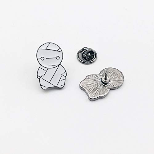 Lupovin Little Mummy Cute Cartoon Enamel Pin Backpack Anime Badge Pin Decorations Anime Brooch Anime Logo Lapel Pin Collectibles Gift