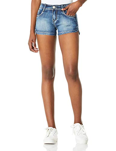 Demon&Hunter 601 Series Junior's Dark Wash Denim Short DH6001(32)