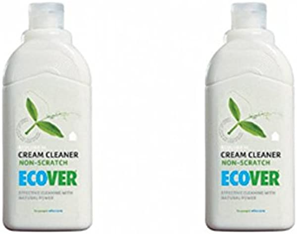 2 Pack Ecover Cream Cleaner 500ml 2 PACK BUNDLE