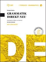 Kit libro scolastico GRAMMATIK DIREKT NEU CON SOLUZIONI (9788820136581) + 1 copertine trasparenti + cavalierini ed evidenziatore