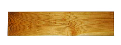 Wandregal - Kirschbaum 189 cm x 30 cm - 3 Aufhängungen verdeckt