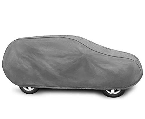 Autoabdeckung geeignet für VW Tiguan II Schutzplane Abdeckung Vollgarage für das Auto atmungsaktiv - Autoplane L SUV
