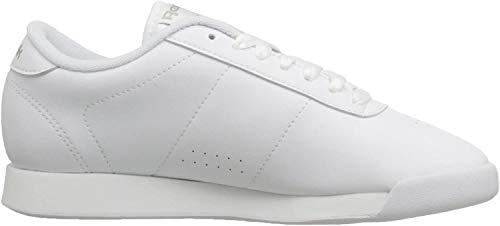 Reebok Women's Princess Aerobics Shoe, White, 7.5 M