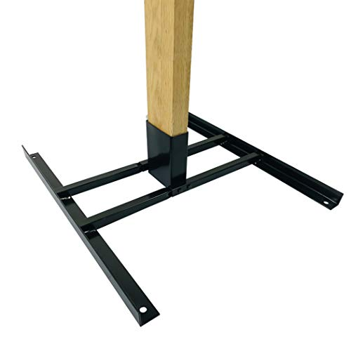 Highwild 2x4 Target Stand Base for AR500 Steel Shooting Targets - Double T-Shaped Base - Easy to Carry
