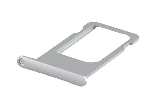 ICONIGON Ersatz für iPhone 6s SIM-Kartenhalter (Silber)