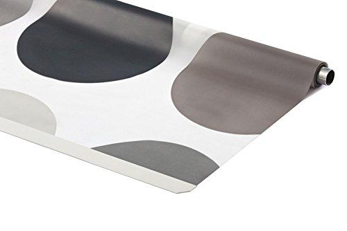 KS Handel 24 ERSATZROLLE HALB-Kassetten DUSCHROLLO ALLE Designs 7 Breiten EINFACHER WECHSEL (120x240 cm, Retro)