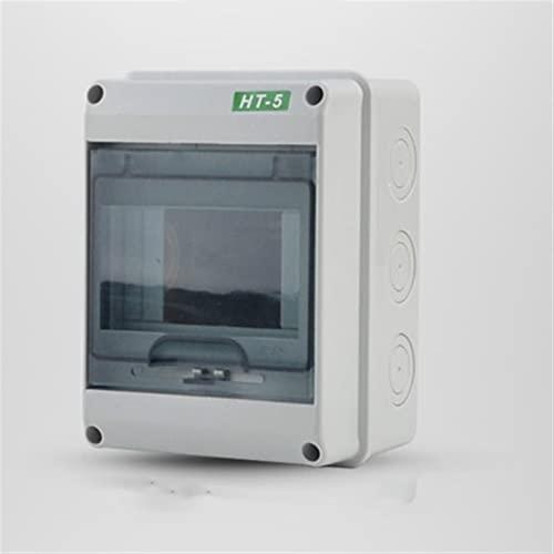 LRrui-Caja de terminales Caja de distribución de energía Impermeable en/Exterior, 5/8/12/15/18/24 Way, Caja de Conexiones de cableado eléctrico Interruptor de Circuito Segura de Usar