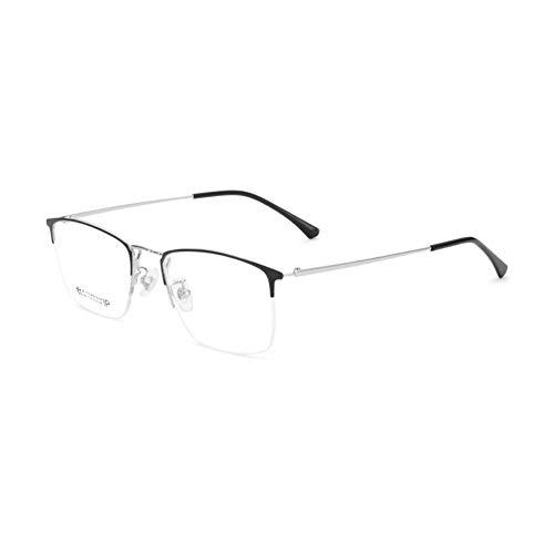 HQMGLASSES Gafas de Lectura de Titanio Puro Anti-luz Azul pa