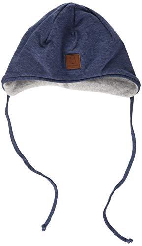 maximo Baby-Jungen Band Beanie-Mütze, indigomeliert, 41