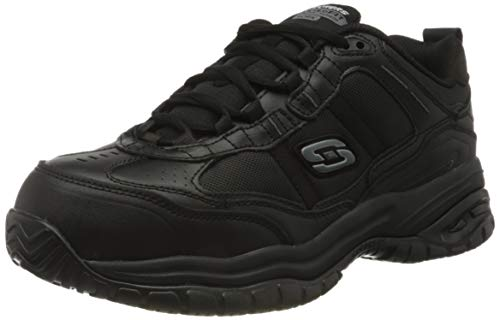 Skechers Soft Stride Grinnel, Zapato Industrial Hombre, Negro, 44 EU