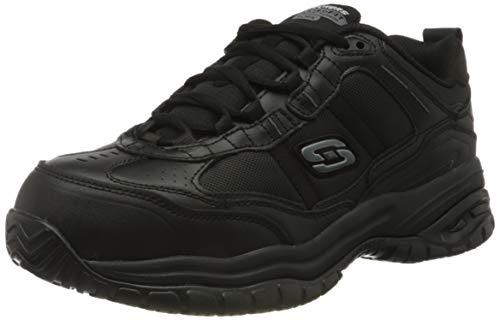 Skechers Soft Stride Grinnel, Zapato Industrial Hombre, Negro, 46 EU