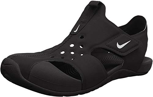 NIKE Sunray Protect 2 (PS), Sandal Boys, Black/White, 33.5 EU