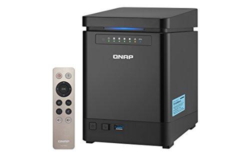 QNAP TS-453Bmini NAS Torre Ethernet Negro - Unidad...