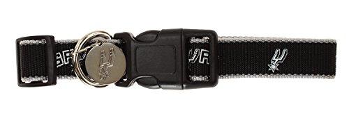 Sporty K9 NBA Reflective Dog Collar, San Antonio Spurs Medium/Large