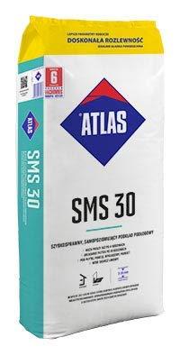 ATLAS SMS 30 Ausgleichsmasse selbstverlaufend innen Zementbasis Fließspachtel 3-30mm 25 kg
