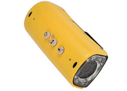 Xtreme Camera Sport Subacquea met LED-lampen en 900 mAh batterij, sleuf voor Micro-Sd en MicroUSB-aansluiting incl. bevestigingsset voor fiets