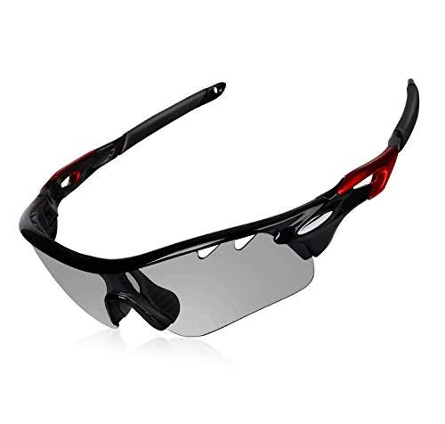 DEKINMAX Gafas Ciclismo Protección UV Gafas Sol Ligeras