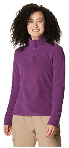 Mountain Hardwear Women's Standard Microchill 2.0 Zip T, Cosmos Purple, Small
