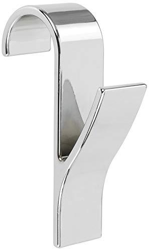 Haken voor ronde radiatoren, ronde radiatorhaken verwarming handdoek badkamer, Wenko, chroom, set van 8
