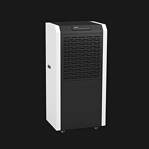 Wanjun Deumidificatore per La Rimozione Dell'Umidità nel Seminterrato Controllo Intelligente Dell'Umidità per La Camera da Letto Armadio Cucina Garage RV con Serbatoio dell'Acqua 60L