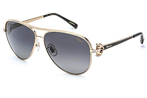 Chopard Sonnenbrillen SCHC17S SHINY ROSE GOLD/GREY SHADED 59/12/135 Damen