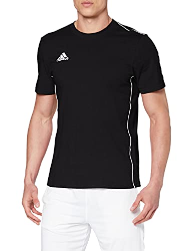Adidas Football App Generic T-shirt Short Sleeve, Uomo, Black/White, XL