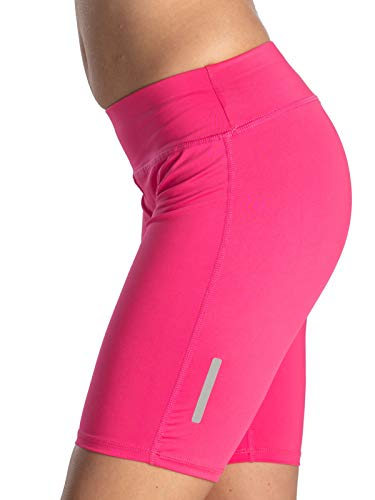 Verano Damen Radlerhose Fitness Hose kurz (pink, XS)