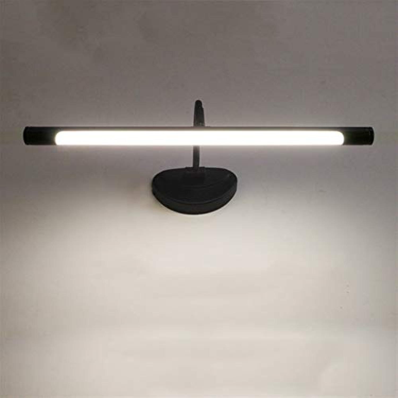 GCCI Mode-Foto-Feuer vor amerikanischem Retro geführtem Spiegellicht vor einfachen Make-uplichtern Wandlampe des europischen Art-Spiegels beleuchtet - justierbarer Winkel (warmes Licht-Licht)