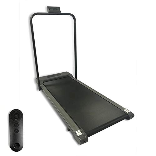 WFCB Ultradünn und leise Klappbar Flaches Laufband Einstellbare Geschwindigkeit Fitness Equipme laufbänder für zuhause elektrisch Fitnessstudio tragbar Flaches Laufband mit LED AnzeigeA